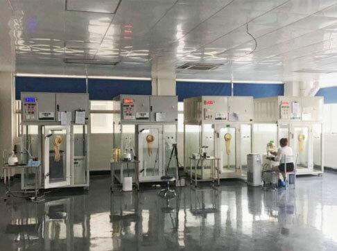 中国の製造工場の様子